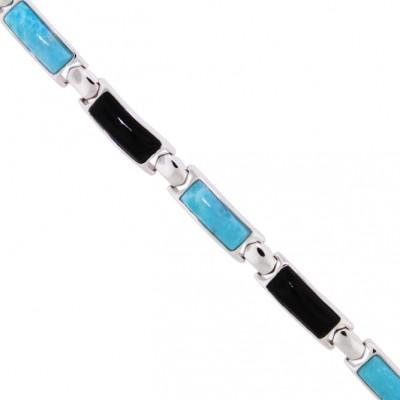 NB1281-OX Larimar Jewelry Bracelet by MelyMar - An MJM International, co.