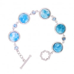 BS-0394 Larimar Jewelry Bracelet by MelyMar - An MJM International, co.