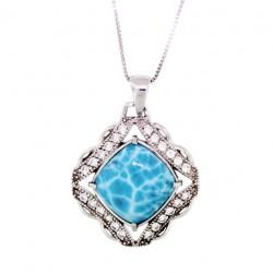 NP-9993 Larimar Jewelry Pendant by MelyMar – An MJM International, co.