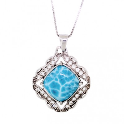 NP-9993 Larimar Jewelry Pendant by MelyMar – An MJM International, co.